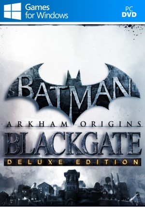 Copertina Batman: Arkham Origins Blackgate - Deluxe Edition - PC