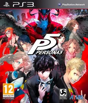 Copertina Persona 5 - PS3