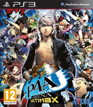 Copertina Persona 4 Arena Ultimax - PS3