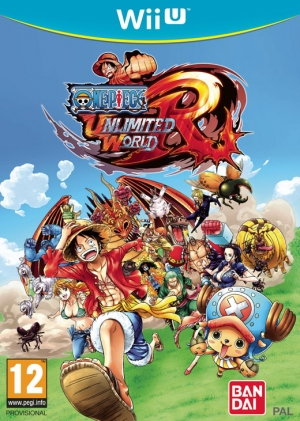 Copertina One Piece Unlimited World Red - Wii U