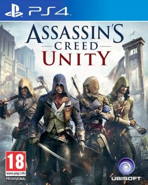 Copertina Assassin's Creed: Unity - PS4