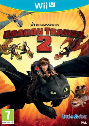 Copertina Dragon Trainer 2 - Wii U