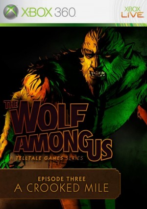 Copertina The Wolf Among Us Episode 3: A Crooked Mile - Xbox 360