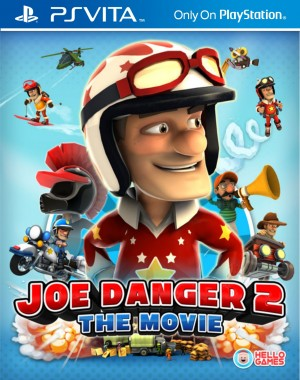 Copertina Joe Danger 2: The Movie - PS Vita