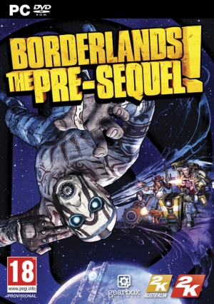 Copertina Borderlands: The Pre-Sequel - PC