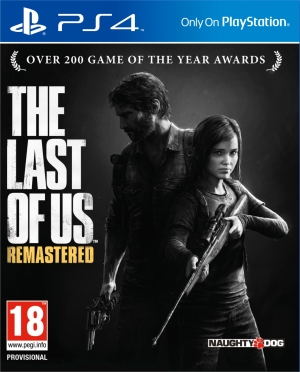 Copertina The Last of Us Remastered - PS4