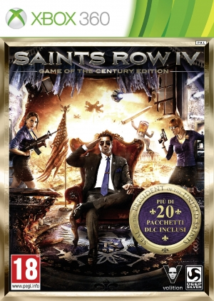Copertina Saints Row IV Game Of The Century Edition - Xbox 360