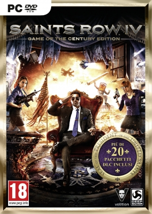 Copertina Saints Row IV Game Of The Century Edition - PC