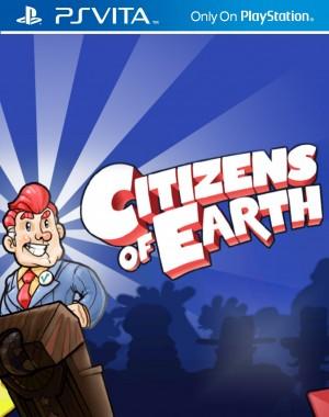 Copertina Citizens of Earth - PS Vita