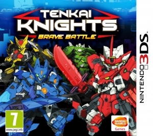 Copertina Tenkai Knights: Brave Battle - 3DS