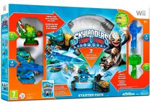 Copertina Skylanders Trap Team - Wii