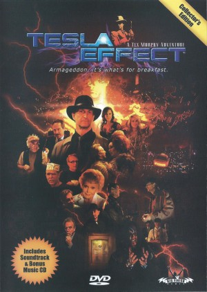 Copertina Tesla Effect: A Tex Murphy Adventure - PC