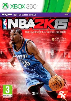 Copertina NBA 2K15 - Xbox 360