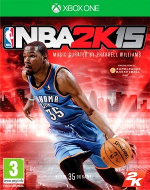 Copertina NBA 2K15 - Xbox One