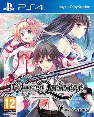 Copertina Omega Quintet - PS4