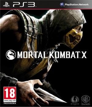 Copertina Mortal Kombat X - PS3