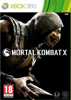 Copertina Mortal Kombat X - Xbox 360