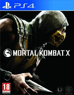 Copertina Mortal Kombat X - PS4