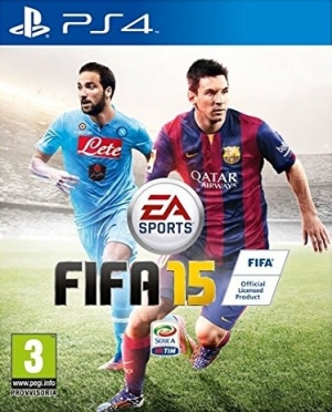 Copertina FIFA 15 - PS4