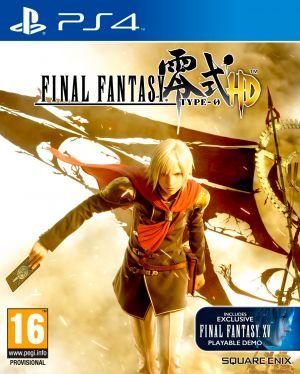 Copertina Final Fantasy Type-0 HD - PS4