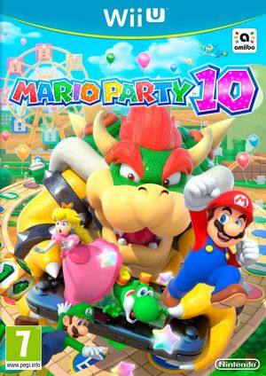 Copertina Mario Party 10 - Wii U