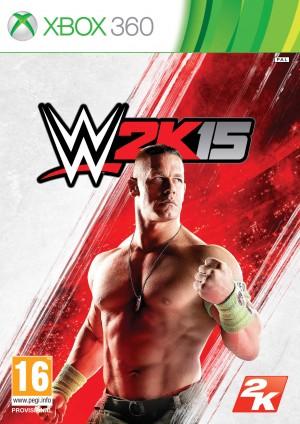 Copertina WWE 2K15 - Xbox 360