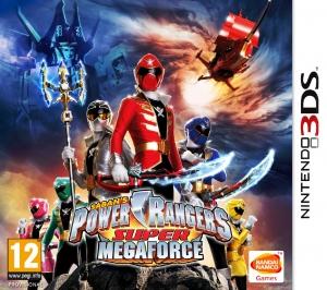 Copertina Power Rangers Super MegaForce - 3DS