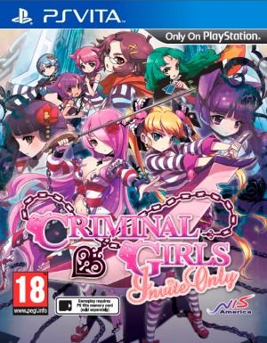Copertina Criminal Girls: Invite Only - PS Vita