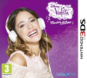 Copertina Violetta: Musica e Ritmo - 3DS