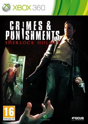 Copertina Crimes & Punishments - Sherlock Holmes - Xbox 360