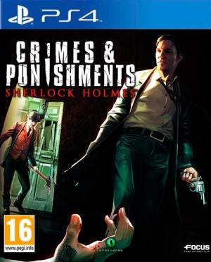 Copertina Crimes & Punishments - Sherlock Holmes - PS4