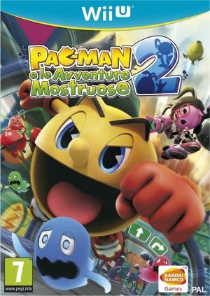 Copertina PAC-MAN e le Avventure Mostruose 2 - Wii U