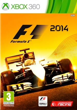 Copertina F1 2014 - Xbox 360