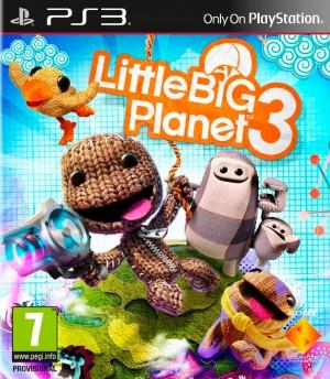 Copertina LittleBigPlanet 3 - PS3