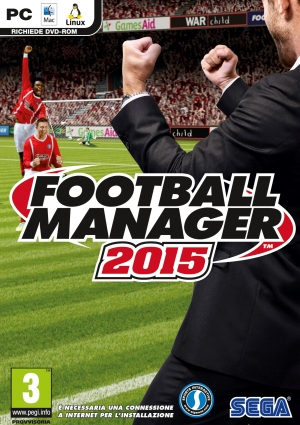 Copertina Football Manager 2015 - PC