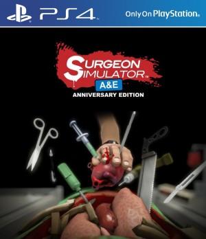 Copertina Surgeon Simulator A&E Anniversary Edition - PS4