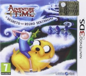 Copertina Adventure Time: Il Segreto del Regno Senza Nome - 3DS