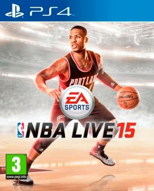 Copertina NBA Live 15 - PS4