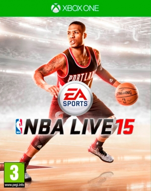 Copertina NBA Live 15 - Xbox One