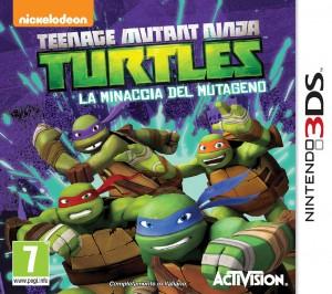 Copertina Teenage Mutant Ninja Turtles: La Minaccia del Mutageno - 3DS