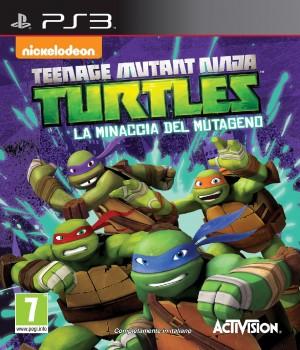 Copertina Teenage Mutant Ninja Turtles: La Minaccia del Mutageno - PS3
