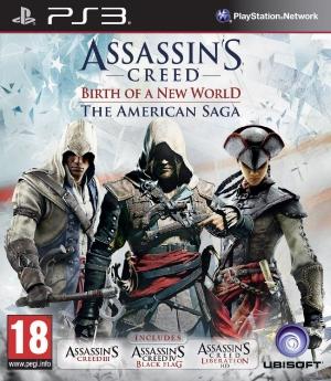 Copertina Assassin's Creed - Birth of a New World: The American Saga - PS3