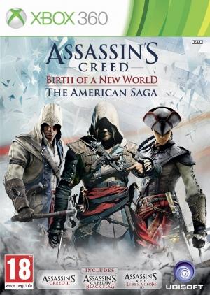 Copertina Assassin's Creed - Birth of a New World: The American Saga - Xbox 360