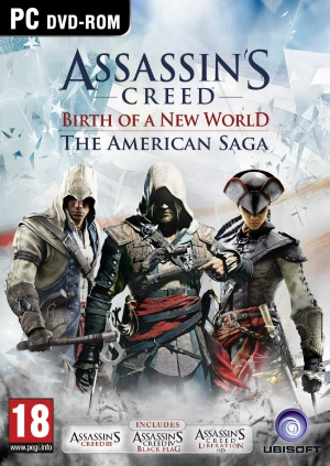 Copertina Assassin's Creed - Birth of a New World: The American Saga - PC
