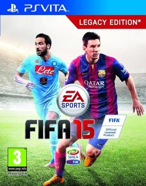 Copertina FIFA 15 - PS Vita