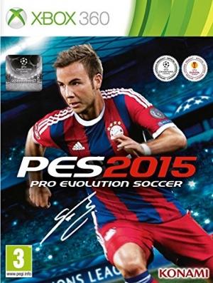 Copertina PES 2015 - Xbox 360