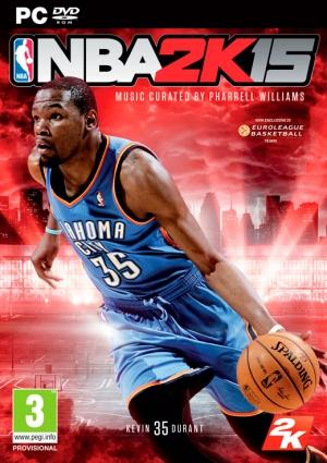 Copertina NBA 2K15 - PC