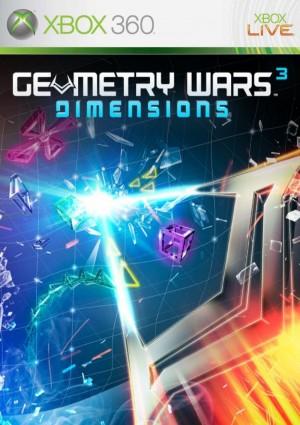 Copertina Geometry Wars 3: Dimensions - Xbox 360