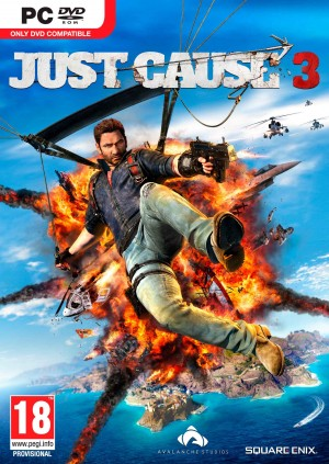 Copertina Just Cause 3 - PC