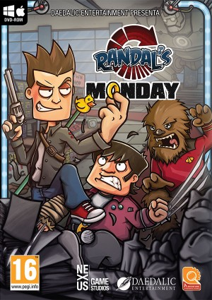 Copertina Randal's Monday - PC